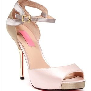 Betsey Johnson Daalia Open Toe Heels